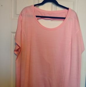 Xersion size 4x pink top